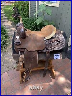 Circle Y Ranch Cutting Saddle Very Nice