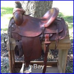 Circle Y Ranch Roping 16 Saddle