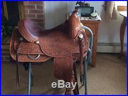 Circle Y Reining Ranch Riding Saddle