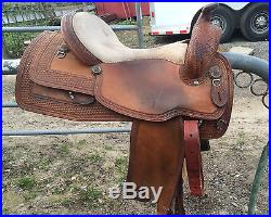 Circle Y Reining Saddle 16