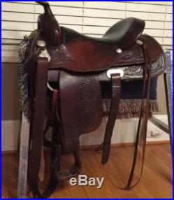 Circle Y Saddle 16