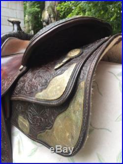Circle Y Saddle 16 Equitation Show Saddle
