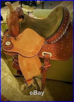 Circle Y Shining Star Barrel Saddle
