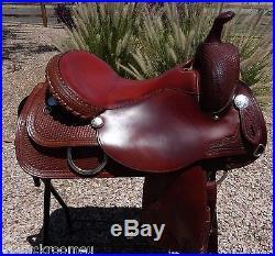 Circle Y Team Penning Penner Saddle 16