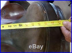 Circle Y Trail/Pleasure saddle 16