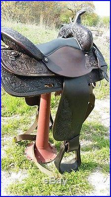 Circle Y Western Park & Trail Saddle 16 Seat #3607-6000-702
