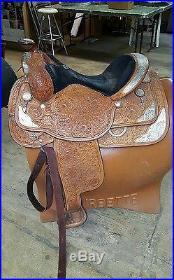 Circle Y Western Pleasure Equitation Show 16 Saddle Ex. Cond