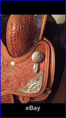 Circle Y Western Pleasure Equitation Show Saddle 16