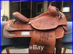 Circle Y Western Pleasure Saddle