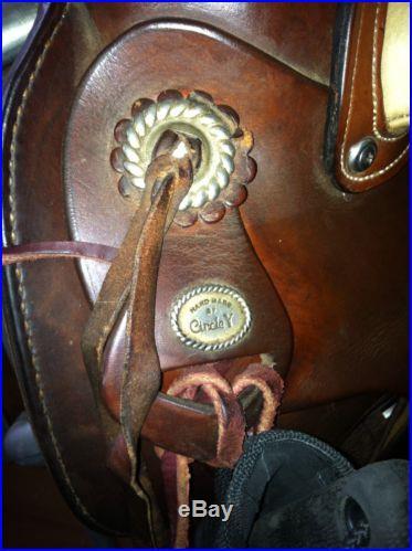 Circle Y Western Roping Saddle