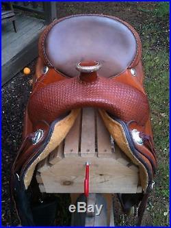 Circle Y Western Saddle The Reiner 16 Seat