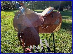 Circle Y Western Show Saddle