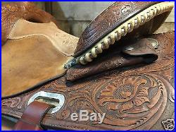 Circle Y older Barrel Saddle- 15 inch