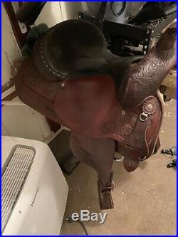 Circle y park and trail saddle 16 Semi Quarter Horse Bars