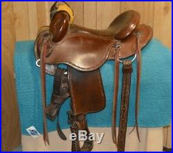 Clinton Anderson Natural Horsemanship Saddle 14-15