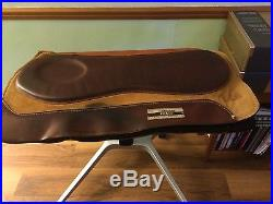 Clinton Anderson PRS leather saddle pad