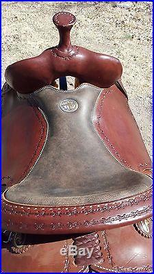 Clinton Anderson Saddle 15 Martin Saddlery