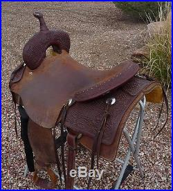 Cowboy Collection Cutting Cowhorse Saddle 17