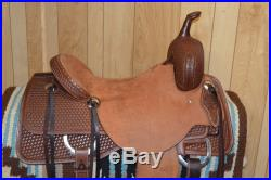 Cowboy collections Western Cutting Ranch Saddle 16 inch