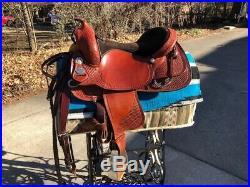 Crates Saddle Reining Model 260-5