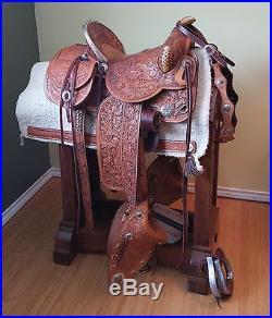 Custom Built American Design Artists MacDonald & Kee Saddle