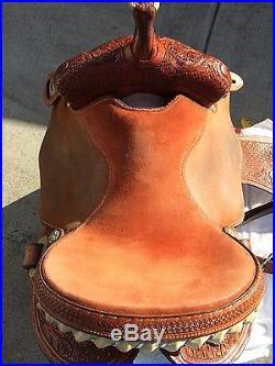 Custom Charmayne James Cactus Barrel Saddle