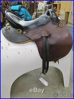 Custom Endurance Gaited Trail Saddle by George SC Lightly Used