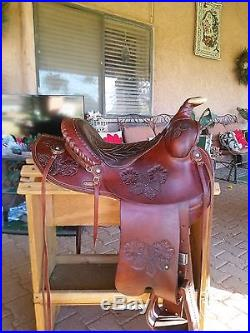 Custom Fallis Balanced Western Saddle