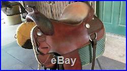Custom Reining Saddle with Fallis tree very comfortable! 16 inch