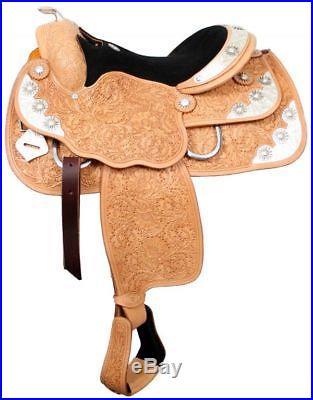 DOUBLE T WESTERN HORSE SHOW PLEASURE SADDLE 16