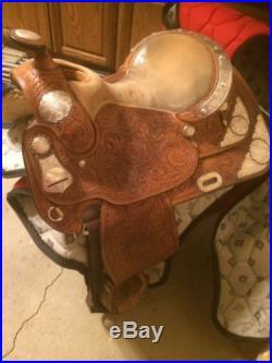 Dale Chavez 16 Inch Show Saddle