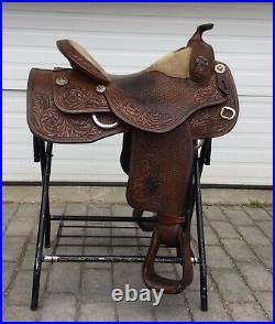 Dale Chavez 17 Ranch Western Saddle