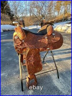 Dale Chavez Reiner 16 Seat Saddle