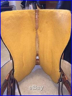 Dale Chavez Western Show Saddle Neoprene Girth and Cover
