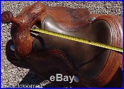 Darrel Slinkard Cowboy Tack Reining Saddle 16