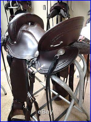 Dixieland Gaited Saddle Butterfly Endurance 16