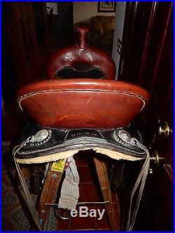 Dixieland Western Gaited Horse Saddle