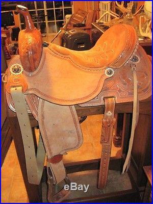 Double J Pro Barrel Racing Saddle