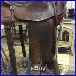 Fallis Balanced Ride Saddle Used
