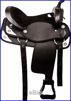 Gaited 14 15 16 Western Barrel Racing Pleasure Trail Show Horse Saddle Tack Set