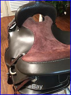Gaited Western Leather Saddle Bedford Brown by TN Saddlery, 16 FLOOR MODEL