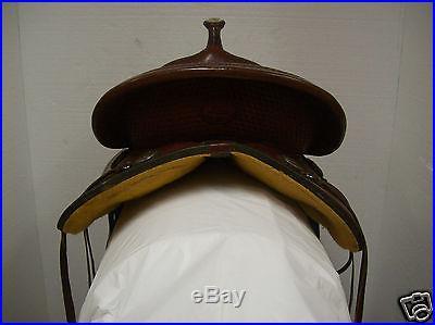 Geniune Billy Cook Sulphur, OK. 16 #1780 Trail Saddle Full Quarter Horse Bars
