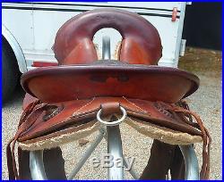 Genuine Abercrombie endurance saddle