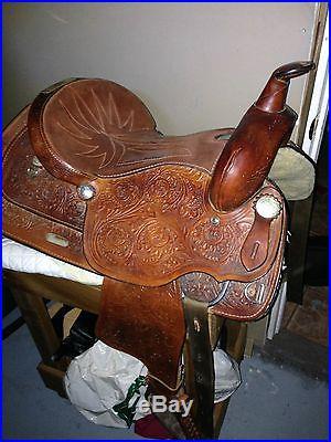 Great Plains Western Saddle