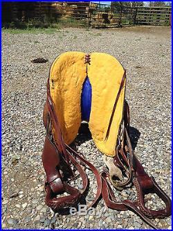 Gw Crates, 16 custom, used trail saddle