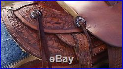 Handmade Randy Hansen Ranch Saddle