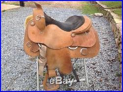 Harris Roughout Work Saddle