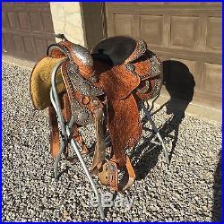 Harris Show Saddle | Western Saddles