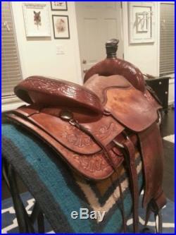 Hereford Tex Tan Cutting / Penning saddle 16