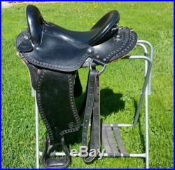 Imus 4 beat saddle. 16 in